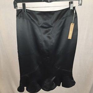 Zac Posen Skirts - Zac Posen Wool/Silk Tulip Hem Skirt